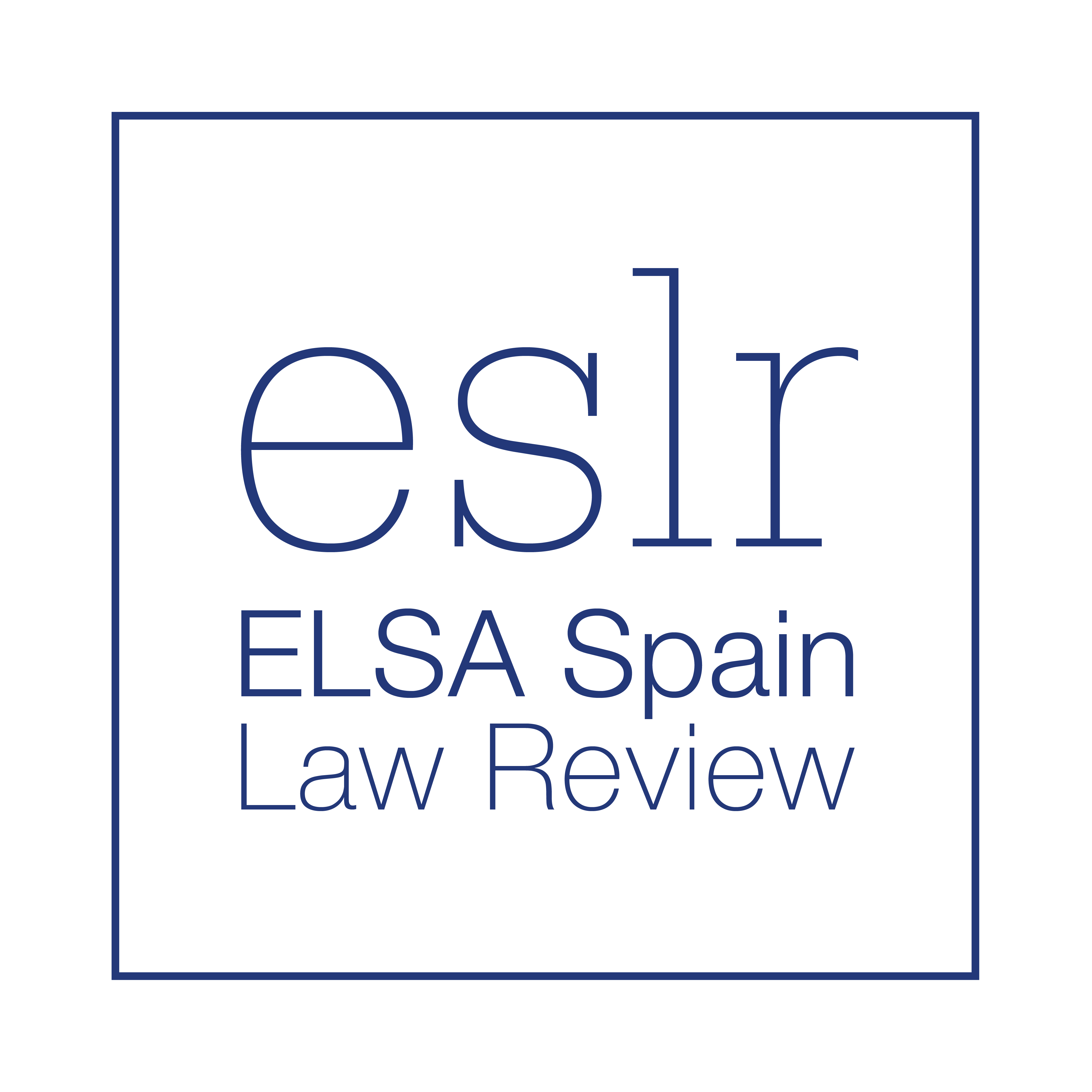 ELSA Spain Law Review